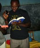 Adarrel Omar Fisher Preaching in Mbeya Tanzania